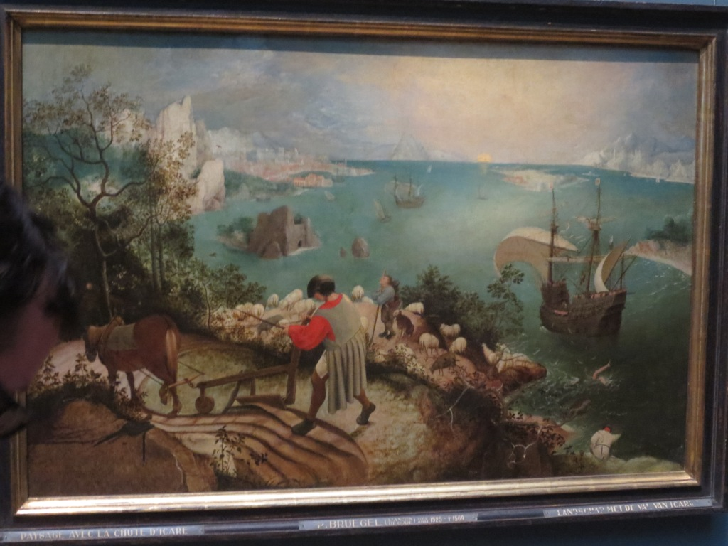 Old Masters Museum, The Fall of Icarus (Breughel)