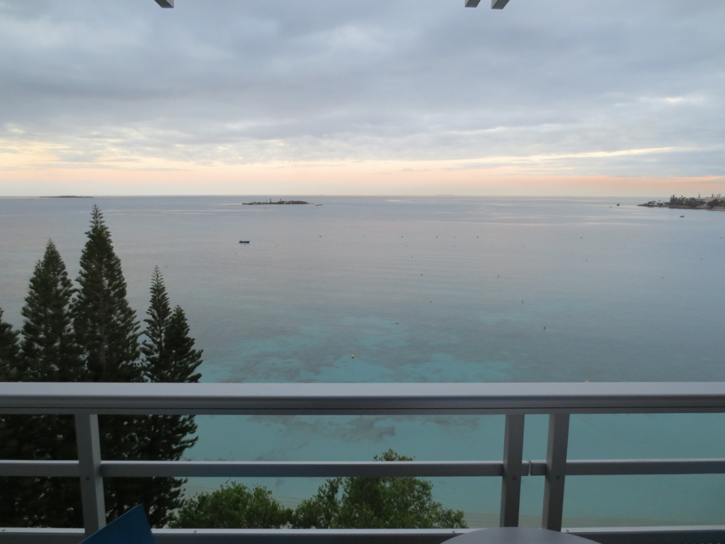 View from Chateau Royal Noumea